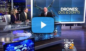 Steel City Drones Flight Academy on KDKA 2 News- Drones dos and don'ts