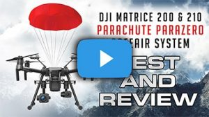 Steel City Drones Flight Academy - DJI MATRICE 200 AND 210 RTK - Parachute ParaZero SafeAir System - Review and Test - Police and Fire Fighter Departments