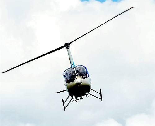 Steel City Drones Flight Academy - helicopter