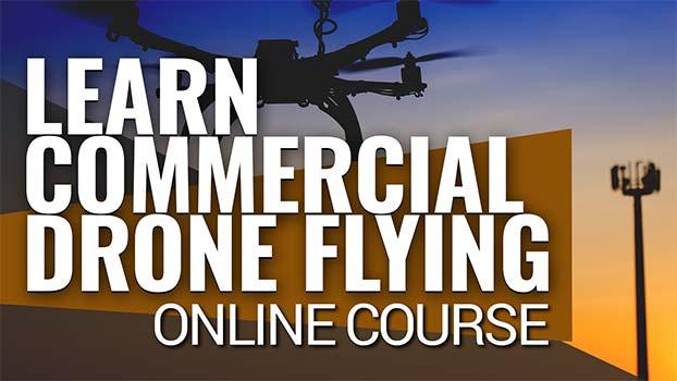 Learn Commercial Drone Flight - Online Course - Steel City Drones Flight Academy