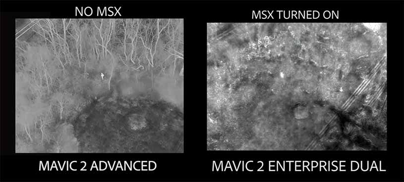 Mavic 2 Enterprise Advanced Thermal Camera Test and Compare - Steel City Drones Flight Academy