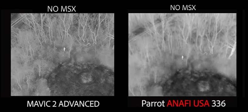 Mavic 2 Enterprise Advanced Thermal Camera Test and Compare Steel City Drones Flight Academy