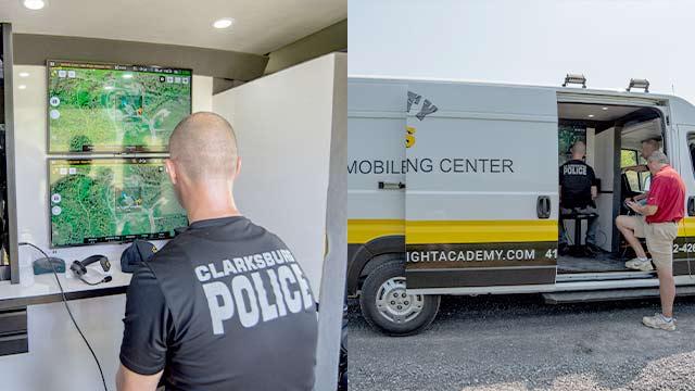 Clarksburg, WV - Police Drone Training - Steel City Drones Flight Academy